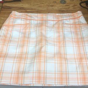 Izod stretch golf and tennis skirt